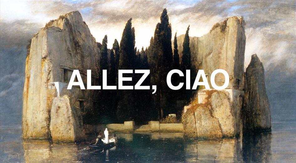 Allez, ciao - Affiche, 2014